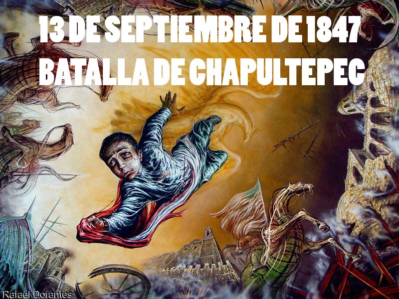 La batalla de Chapultepec y los Niños Heroes