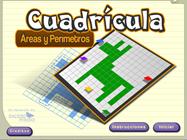 Cuadricula area y perimetro