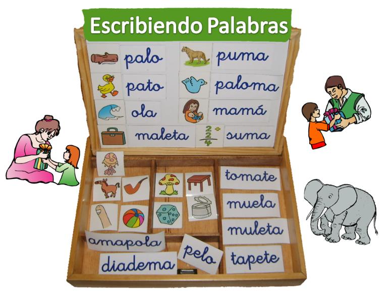 Escribiendo silabas compuestas