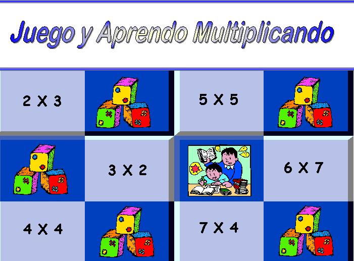 Juego y aprendo la multiplicación
