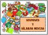 Sinfones y sílabas mixtas