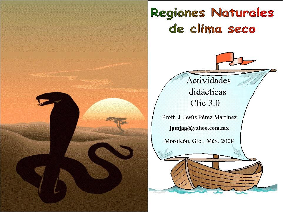 Regiones Naturales de Clima Seco