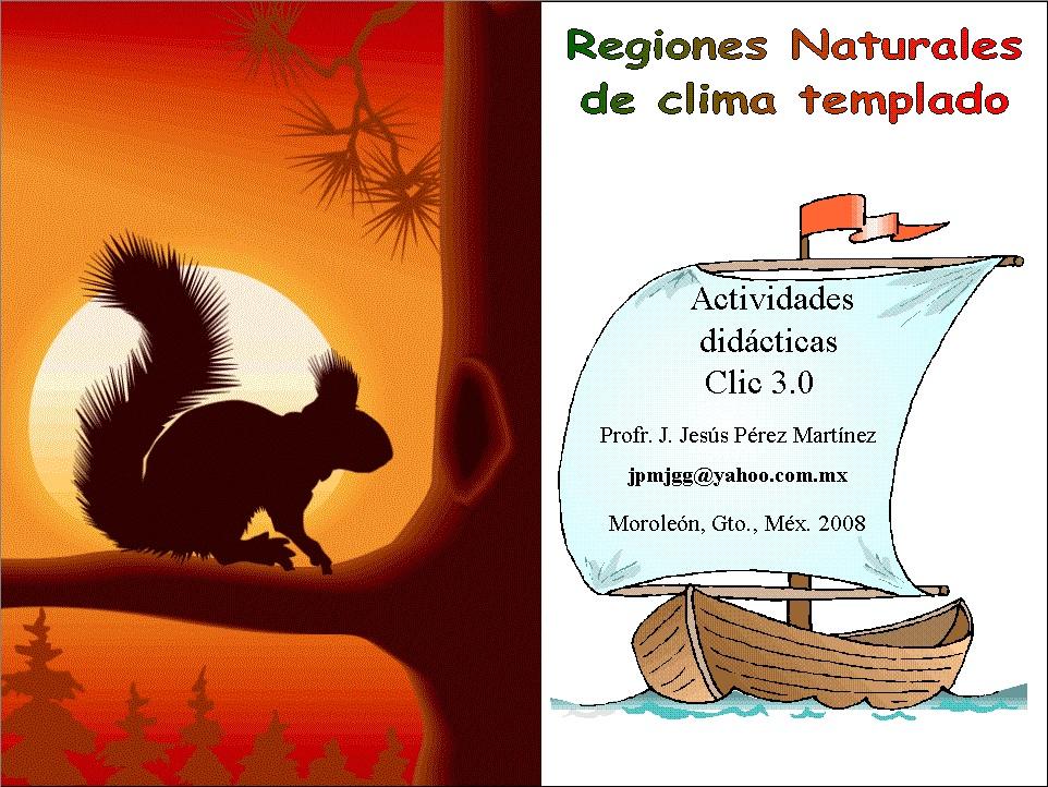 Regiones Naturales de Clima Templado